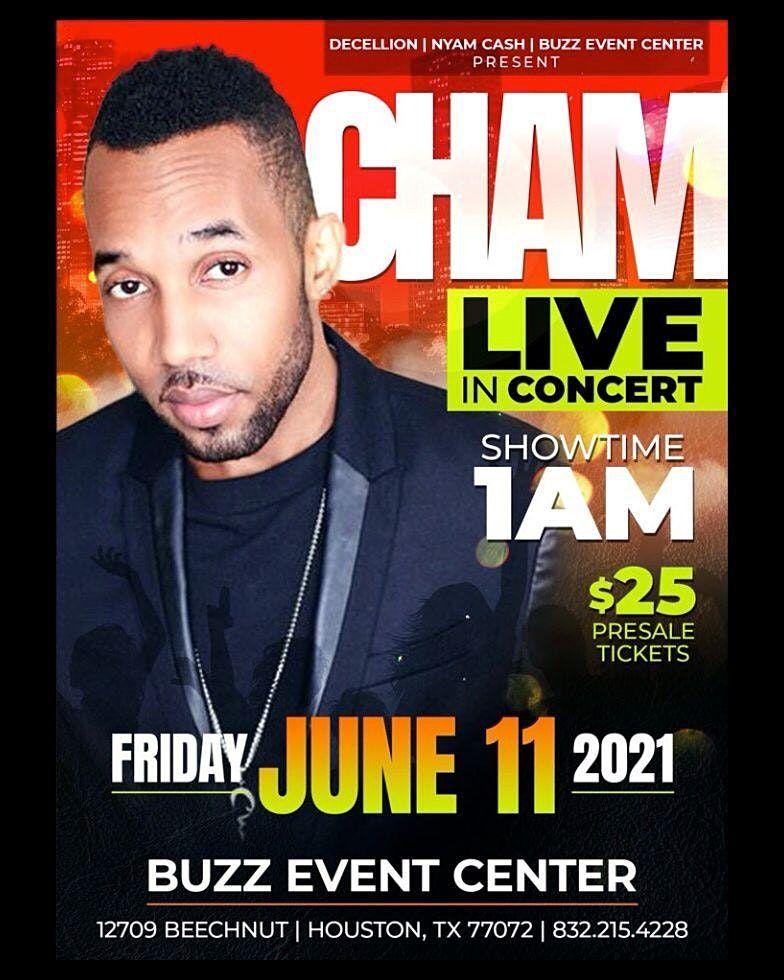 Baby Cham Houston Concert
