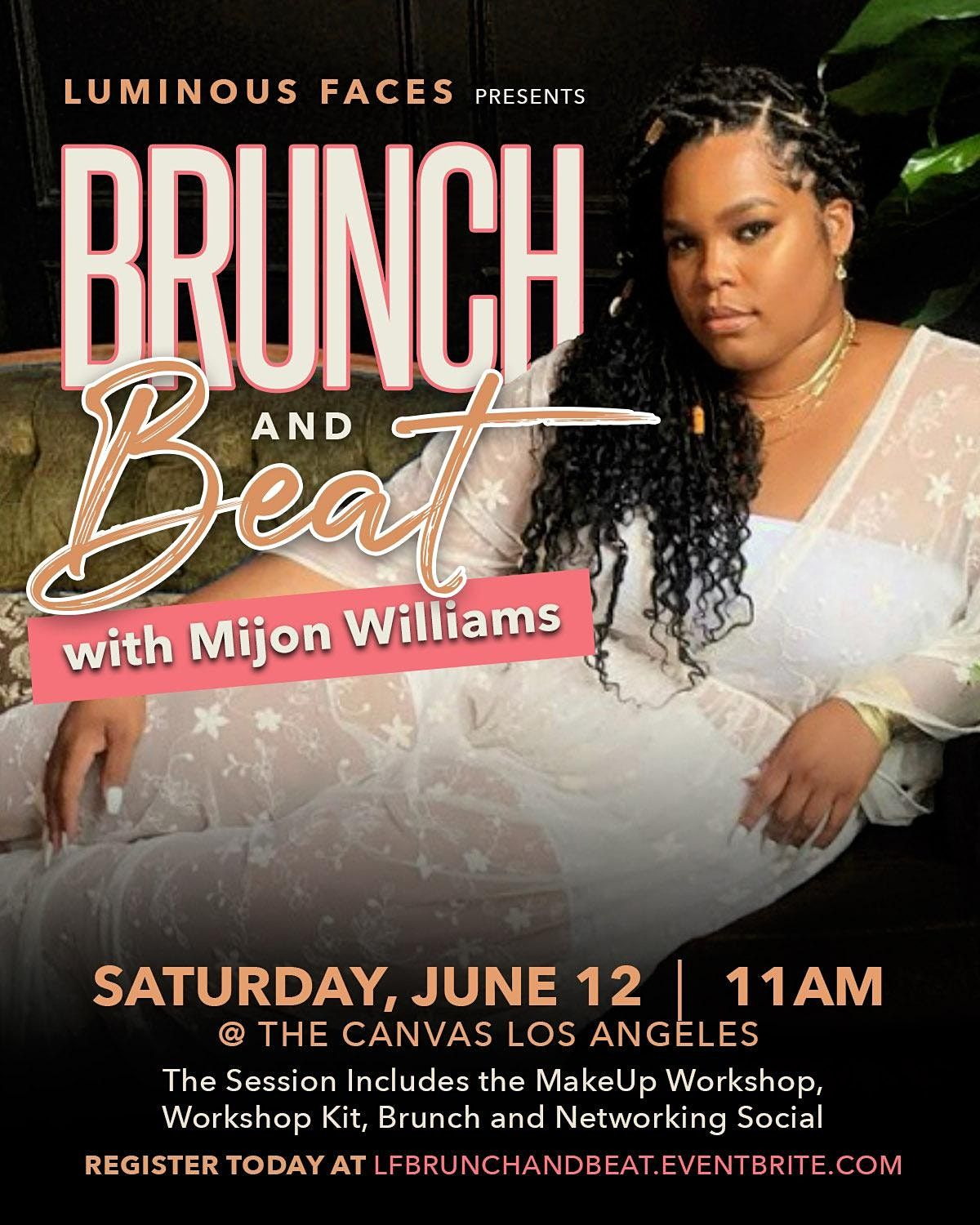 Brunch And Beat with Mijon Williams