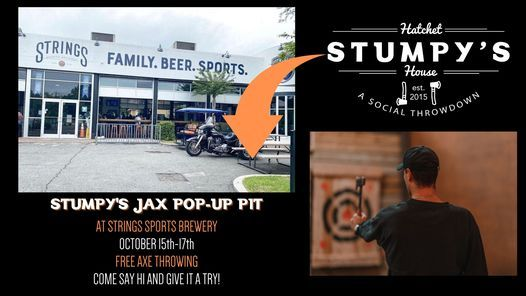 Stumpy's Pop-Up at Strings Sports Brewery