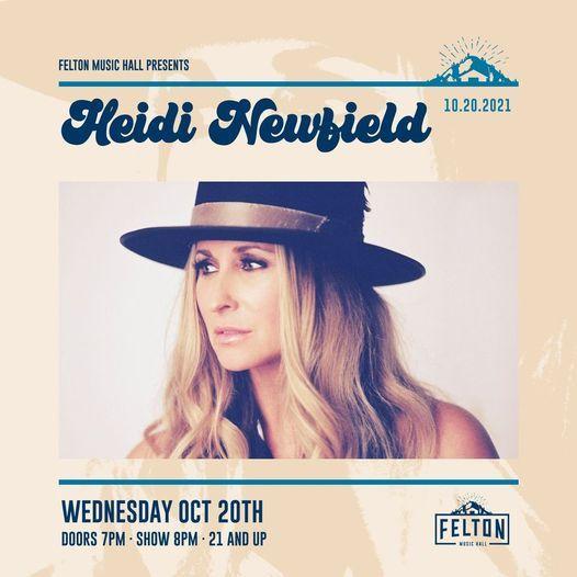 Felton Music Hall Presents: Heidi Newfield