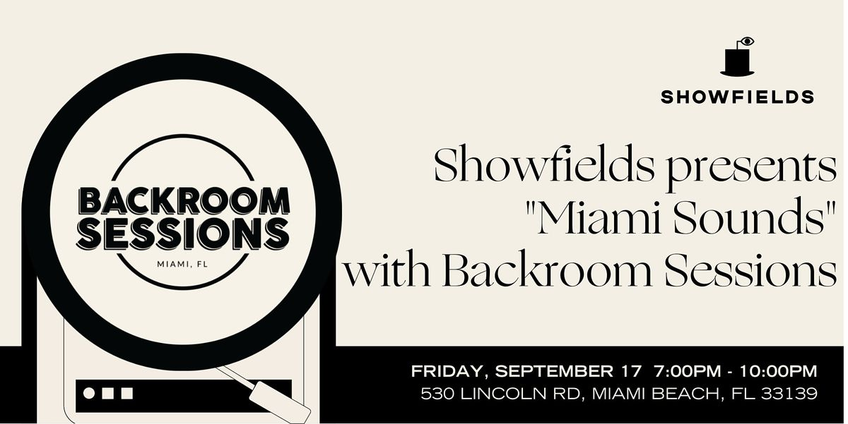 Miami Sounds: Indie Music Performances & Complimentary Drinks