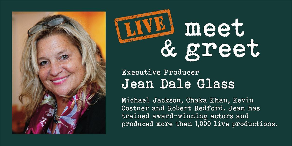 IN-PERSON ACTING MEET & GREET WITH EXEC PRODUCER