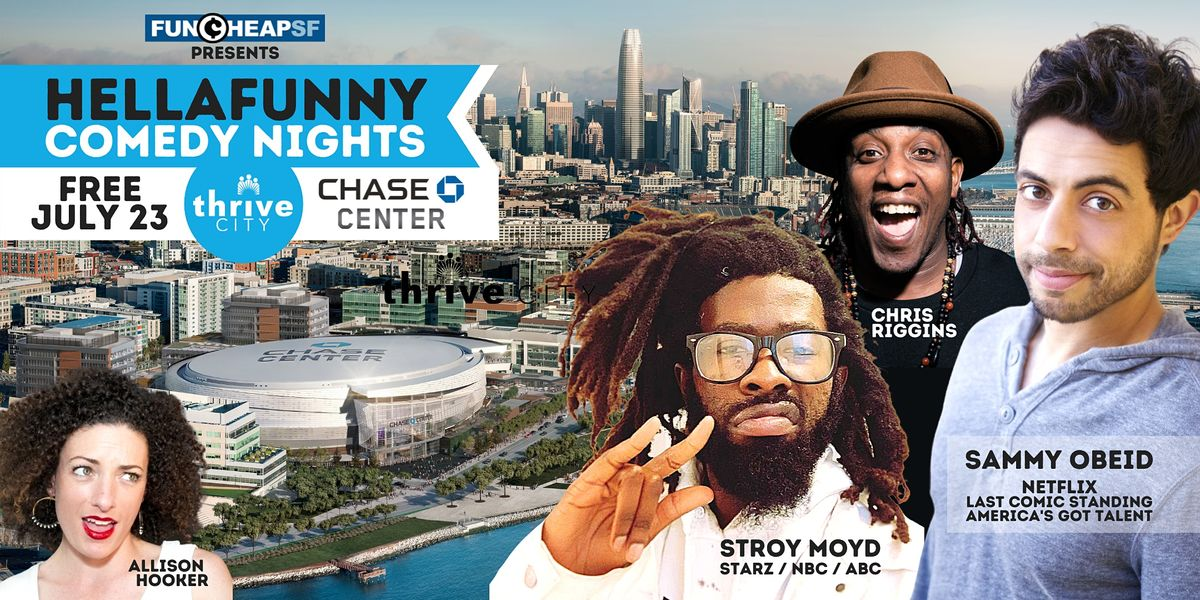 HellaFunny Outdoor Comedy Nights at Thrive City