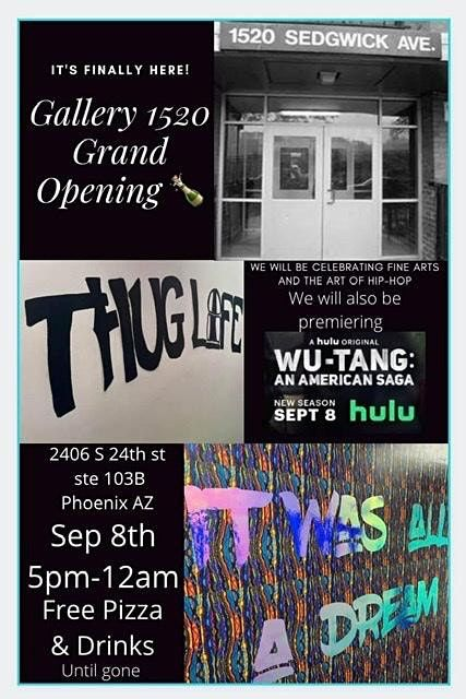Copy of GALLERY1520 Grand Opening