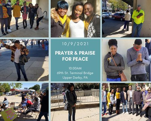 Prayer and Praise Rally for PEACE