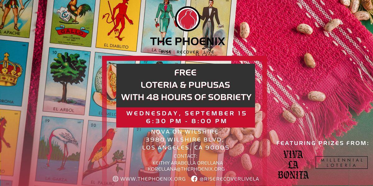 Hispanic Heritage Month: FREE Loteria & Pupusas!