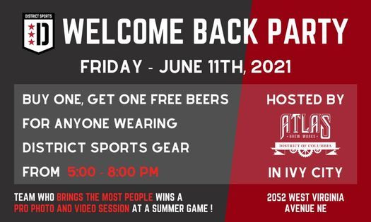 District Sports Welcome Back Party