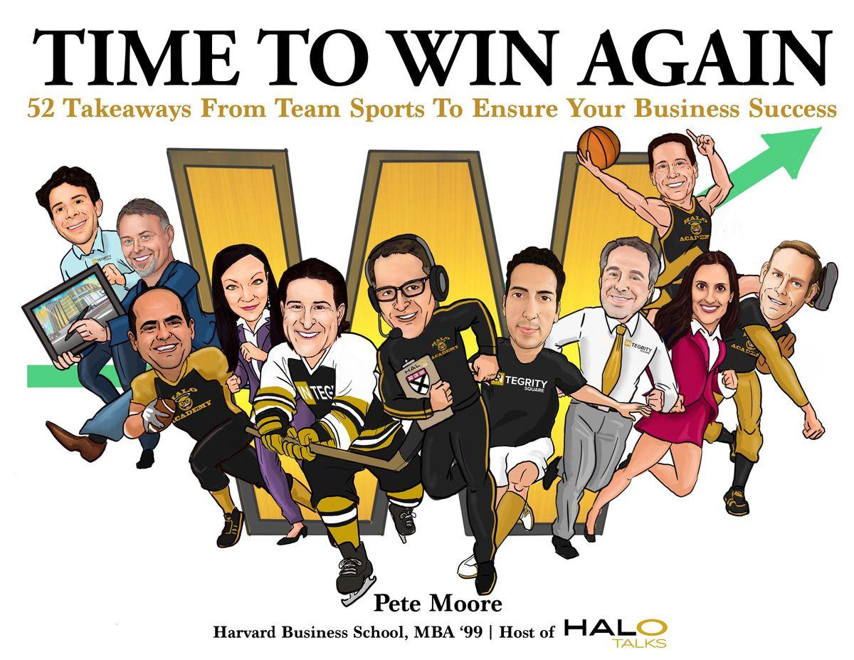 HALO Talks & Promotion Vault Present Happy Hour & Book Launch