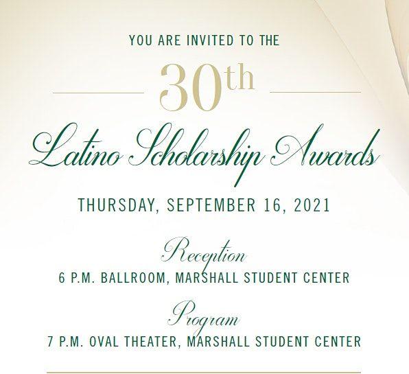 Latino Scholarship Awards Ceremony - Returning Scholars