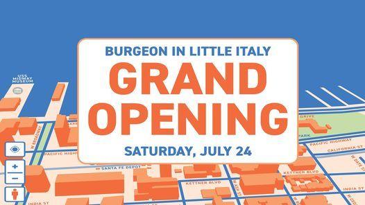 GRAND OPENING: Burgeon at The Arbor