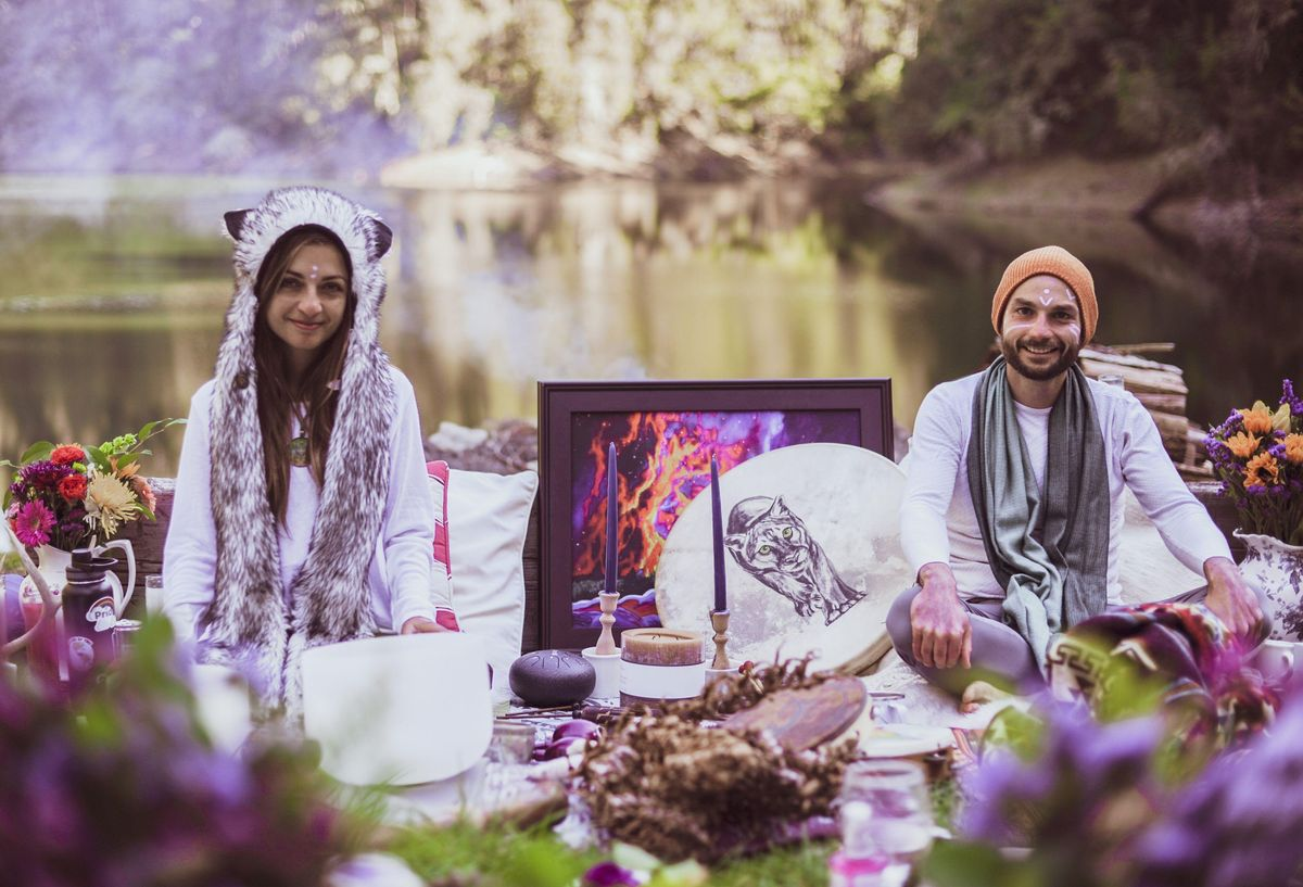 LIVE Full Moon Cacao Sound Bath\/ Sound Healing with Crystal Bowls and More