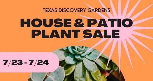 House + Patio Plant Sale!