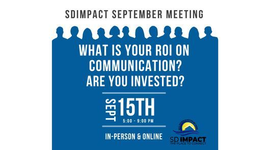 What is YOUR ROI on Communication? Are you invested? with... Karla Lloyd