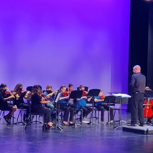 Combs Middle School Orchestra and Band Concert