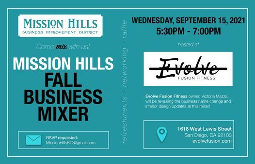 Mission Hills Fall Business Mixer