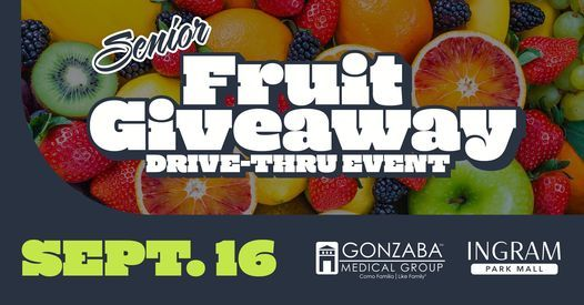 Senior Fruit Giveaway