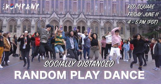 THE KOMPANY: SOCIALLY DISTANCED RANDOM PLAY DANCE