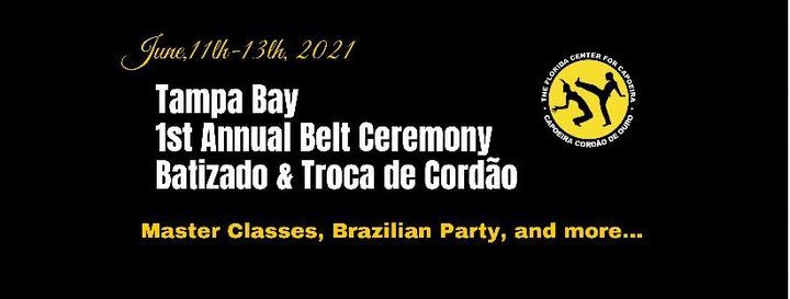 1st Capoeira Belt Ceremony - Tampa Bay