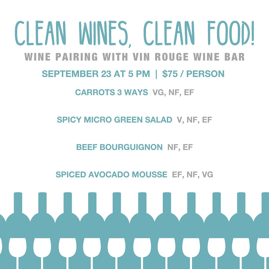 Wine Pairing Event with Vin Rouge Wine Bar