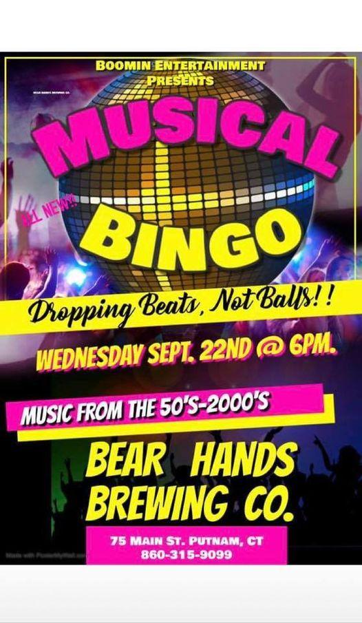 Musical Bingo with Boomin Entertainment