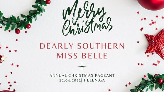 DSM Southern Belle Annual Christmas Pageant