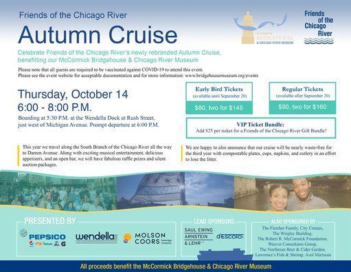 Autumn Cruise Fundraiser for the Bridgehouse Museum