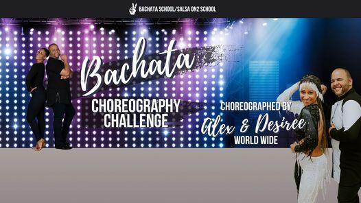 Alex & Desiree Bachata Choreography Challenge Breakdown Class