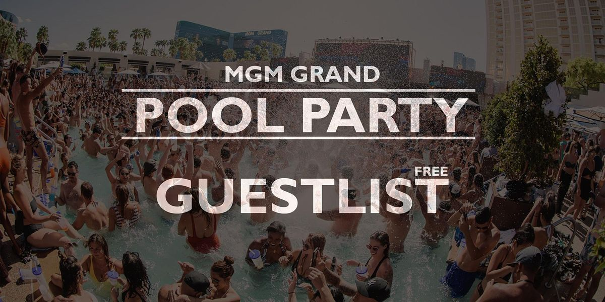 MEXICAN INDEPENDENCE: POOL PARTY at MGM Grand, Las Vegas [FREE GUESTLIST]
