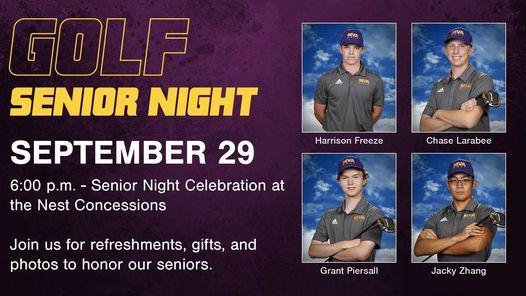 Golf Senior Night