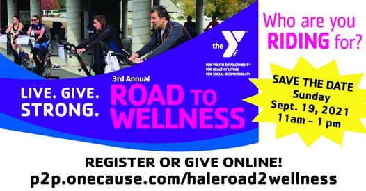 Save the Date: ROAD TO WELLNESS SPINATHON