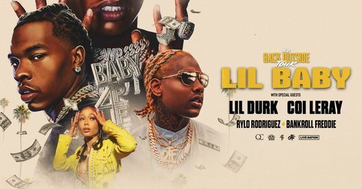 Lil Baby w\/ special guest Lil Durk: The Back Outside Tour