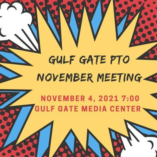 November PTO Meeting