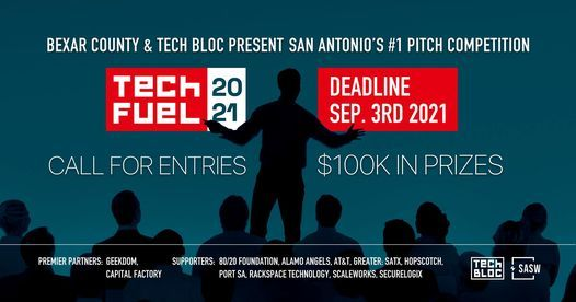 2021 TechFuel Startup $100K Pitch Competition
