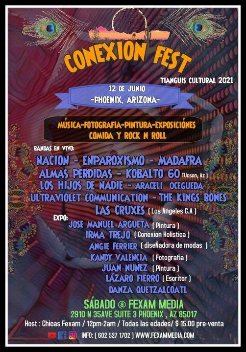 Conexion Fest  2021 Tianguis Cultural