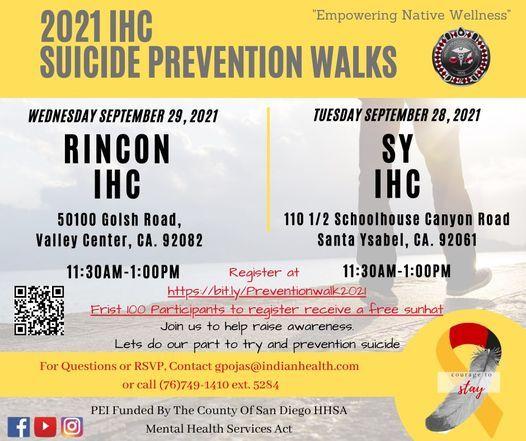 Suicide Prevention Walk