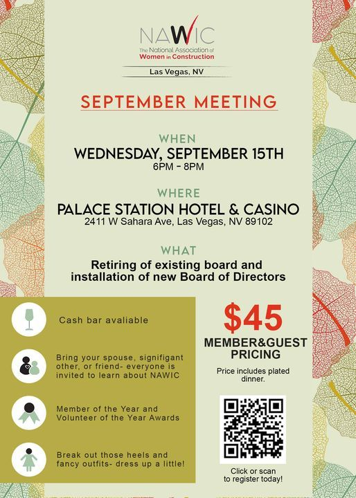 September Monthly Meeting- Installation Ceremony