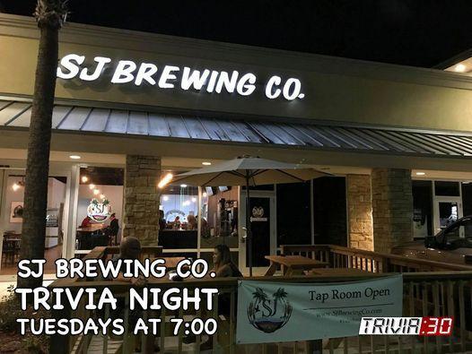 TRIVIA:30 at SJ Brewing Co.