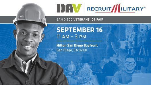 DAV | RecruitMilitary San Diego Veterans Job Fair