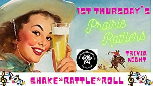 1st Thursday's w\/ Prairie Rattlers @ Independence Brewing