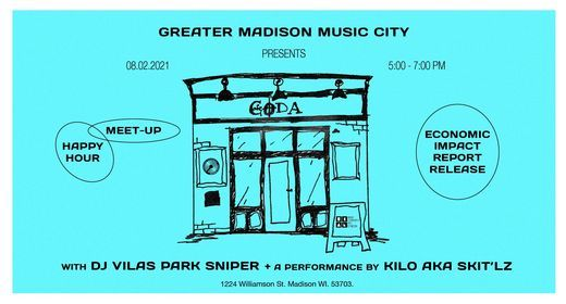 Greater Madison Music City Meet-Up + Happy Hour