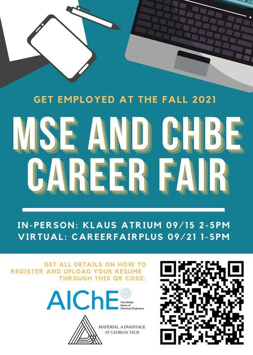 MSE and CHBE Career Fair