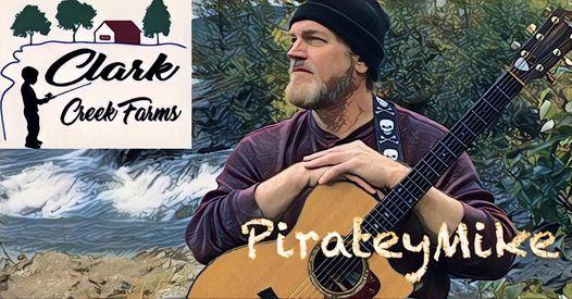PirateyMike @ Clark Creek Farms\u2019 Cafe
