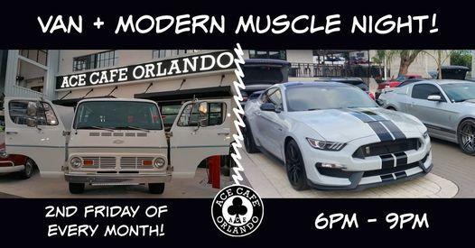 Van + Modern Muscle Night!