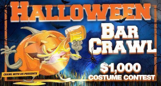 The 4th Annual Halloween Bar Crawl - Honolulu