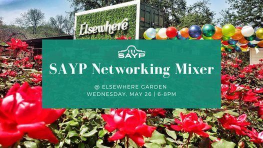 Sayp Happy Hour Elsewhere Garden Bar Kitchen Tickets Zoeken San Antonio May 26 To May 27