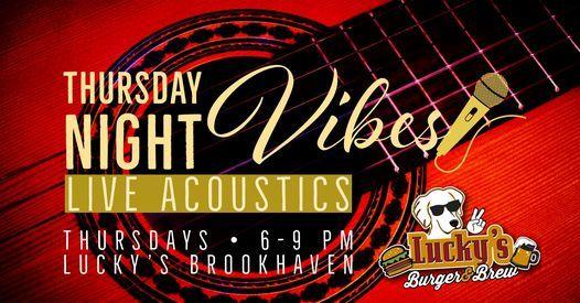Thursday Night Vibes Lucky's Brookhaven Presents Scotty Paulk