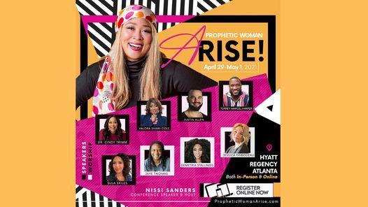 Prophetic Woman Arise, Women's Conference