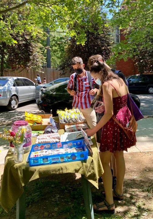 Outreach and Vegan Food Giveaway at Uhuru Flea Market - JUNE