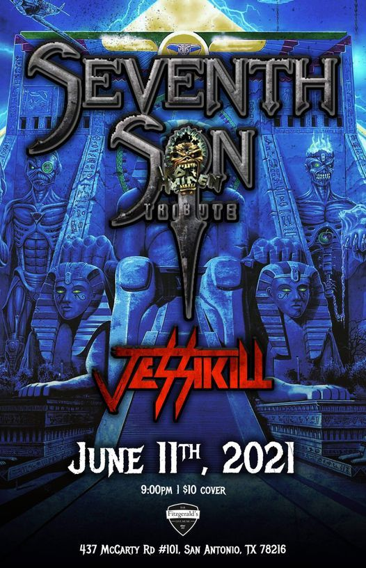 Seventh Son Tribute to Iron Maiden w special guests JESSIKILL
