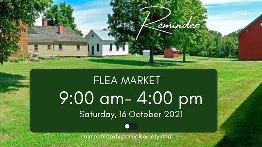 Flea Market at Salmon Brook Historical Society